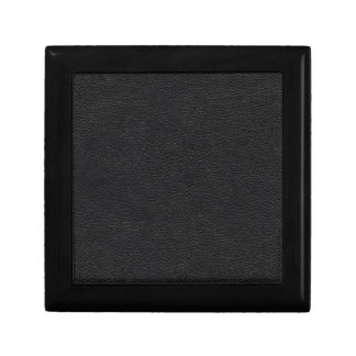 Black Leather Texture Gift Box