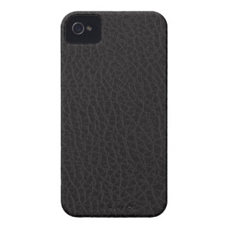 Black Leather Texture iPhone 4/4S Case-Mate B.T.