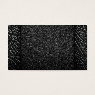 Black Leather Textures For Background Business Card