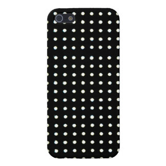 Black Led light iPhone 5/5S Cases