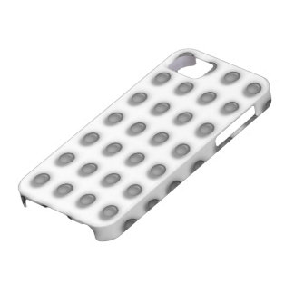 Black Leds on White iPhone 5 Cover