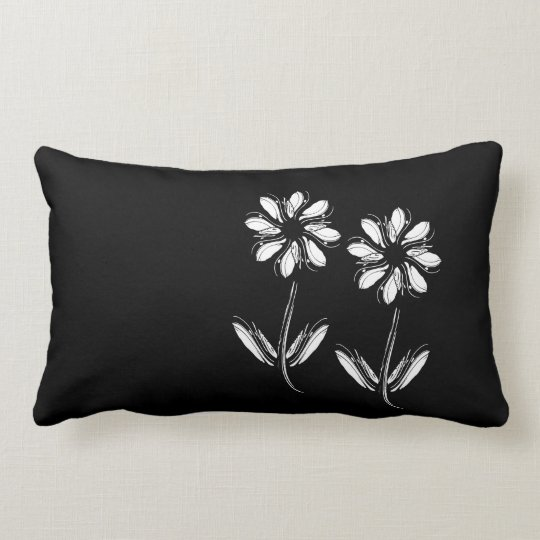 Black Lendenkissen Lumbar Pillow