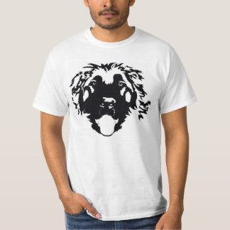 Black Leonberger was here T-Shirt