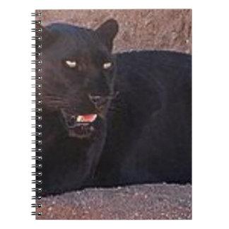 Black Leopard Notebook