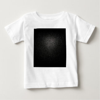 black lether imitation baby T-Shirt