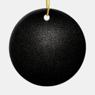 black lether imitation ceramic ornament