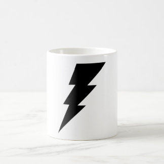 Black Lightning Bolt Coffee Mug! Coffee Mug