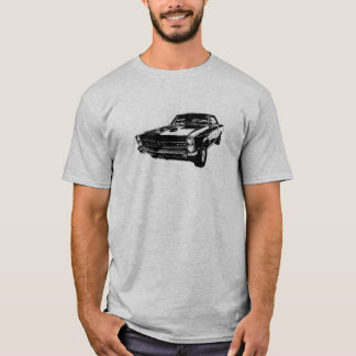 Black line art '65 GTO t-shirt