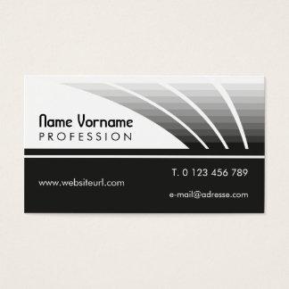 black LINEs Business Card