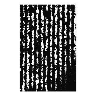black lines stationery
