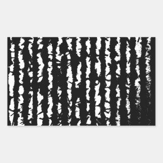 black lines sticker