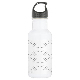 Black Lines Water Bottle