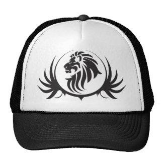 Black Lions Head Trucker Hat