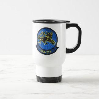 BLACK LIONS WORLD FAMOUS squadron 15 Oz Stainless Steel Travel Mug