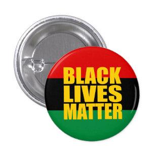 """""""BLACK LIVES MATTER"""" 1.25-inch 1 Inch Round Button"""