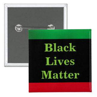 Black Lives Matter 2 Inch Square Button