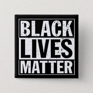 """BLACK LIVES MATTER"" 2 INCH SQUARE BUTTON"