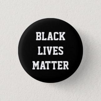 BLACK LIVES MATTER black power round button
