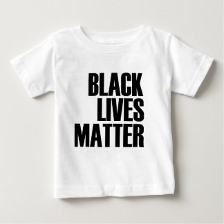 Black Lives Matter - Bold Design - Black Pride Baby T-Shirt