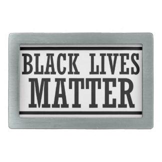 Black Lives Matter - Bold Design - Black Pride Belt Buckle