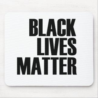 Black Lives Matter - Bold Design - Black Pride Mouse Pad
