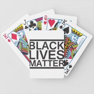 Black Lives Matter - Bold Design - Black Pride Poker Deck
