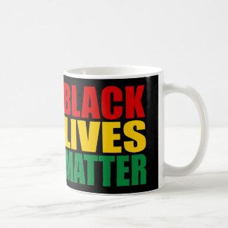 """BLACK LIVES MATTER"" CLASSIC WHITE COFFEE MUG"