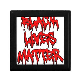 Black Lives Matter Dripping Graffiti Gift Box