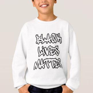 Black Lives Matter Graffiti Sweatshirt