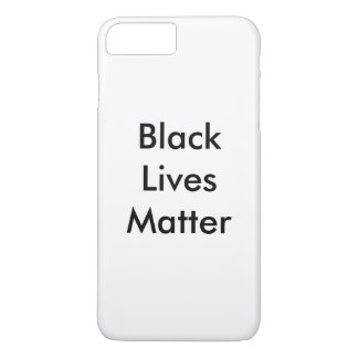 Black Lives Matter iPhone 8 Plus/7 Plus Case