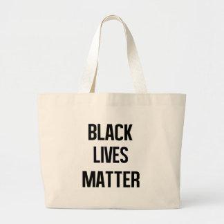 Black Lives Matter Jumbo Tote Bag