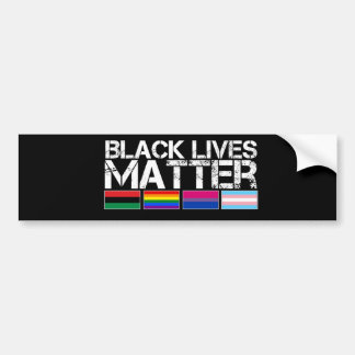 Black Lives Matter LGBT Bumper Sticker