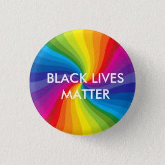 Black Lives Matter/LGBTQ 1 Inch Round Button