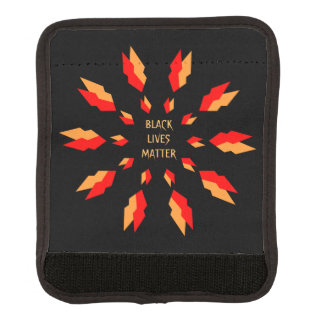 Black Lives Matter Luggage Handle Wrap