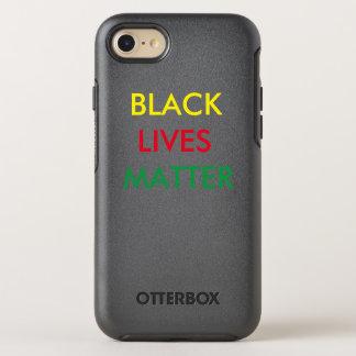 Black Lives Matter OtterBox Symmetry iPhone 7 Case