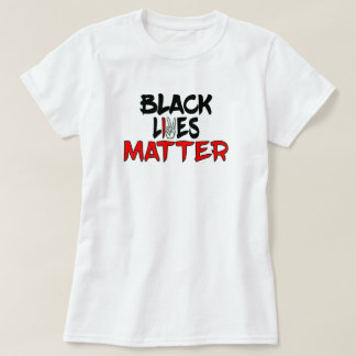 Black Lives Matter-Red and Black T-Shirt