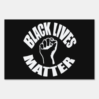 """BLACK LIVES MATTER"" (single-sided)"