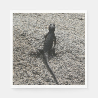 Black Lizard Disposable Napkin