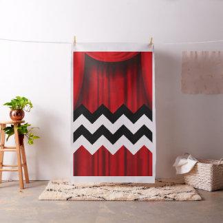 black lodge chevron fabric