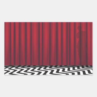 Black Lodge Red Room Sticker