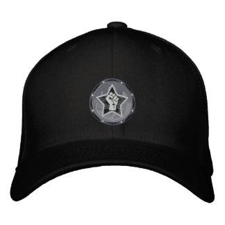 black logo VR hat Embroidered Hats