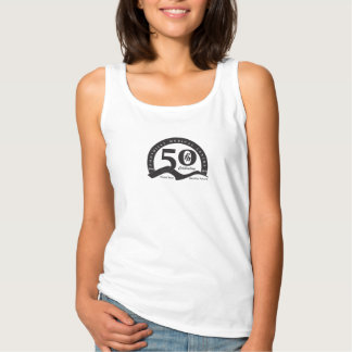 Black Logo - Womens Foothills Turns Fifty Tanktop