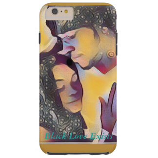 Black Love Exists Phone Case