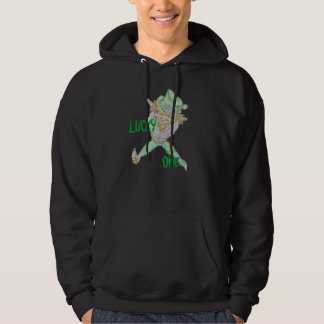 BLACK LUCKY ONE HOODIE