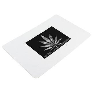 black Lyons dub weed Floor Mat