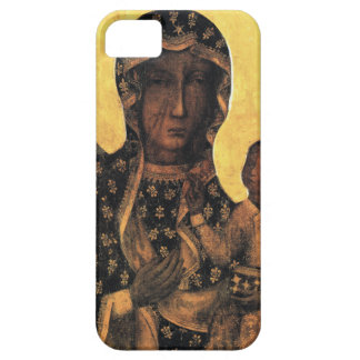 Black Madonna Poland Our Lady of Czestochowa print Case For The iPhone 5