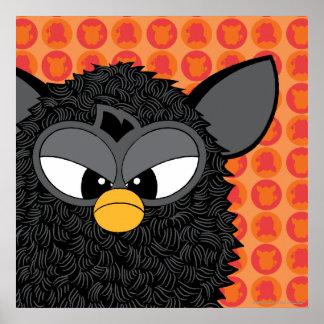 Black Magic Furby Poster