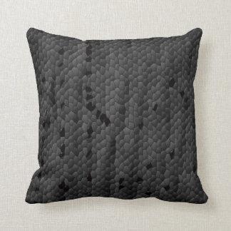 Black Mamba in illustrated,Art Throw Pillow