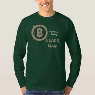 Black Man,Stay True green long sleeve tee