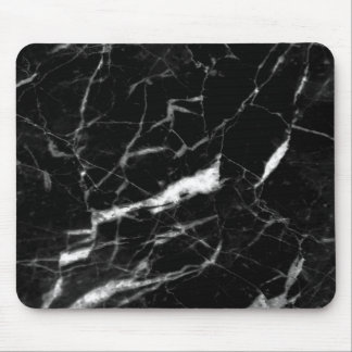 Black Marble Color Mousepad, Marble Color Mouse Pad